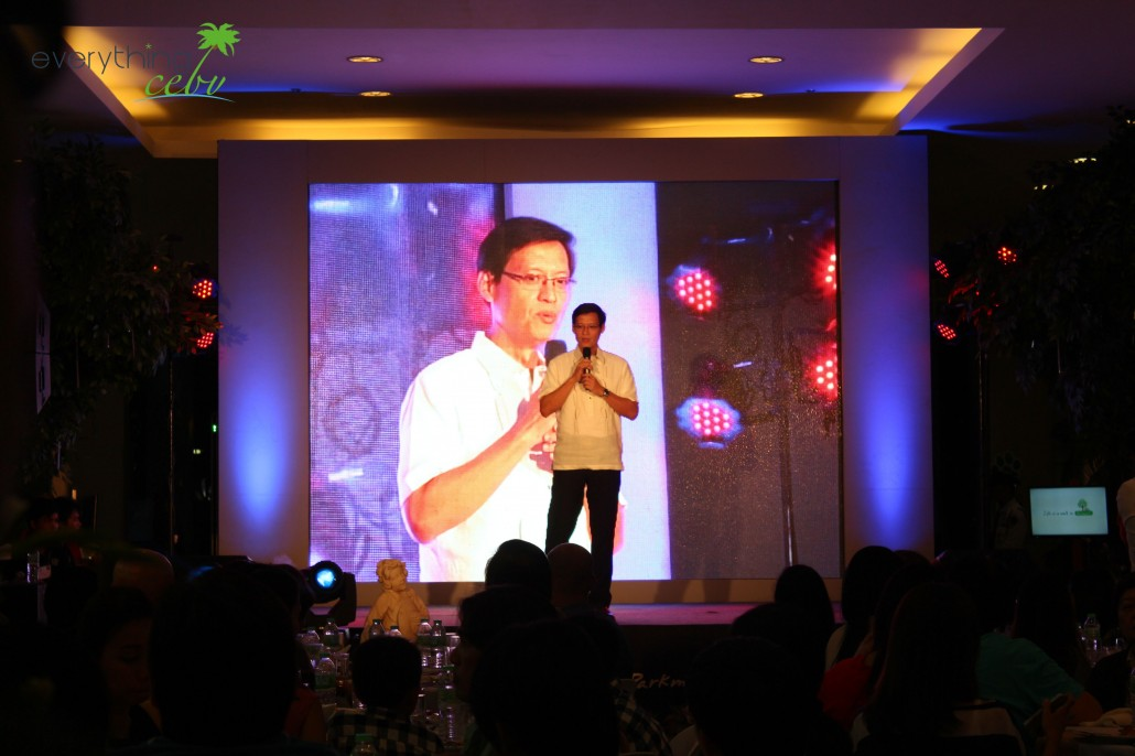 Parkmall's General Manager, Neal Carlson Co, during his inspirational speech