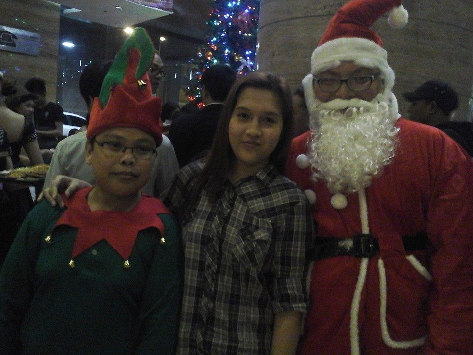Santa Claus and his gift-giving assistant were also present. :D