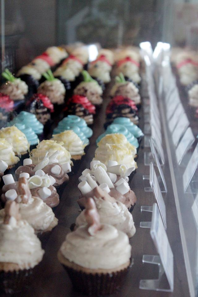 The owners say their cupcakes are influenced by their own gastronomic adventures around the world.