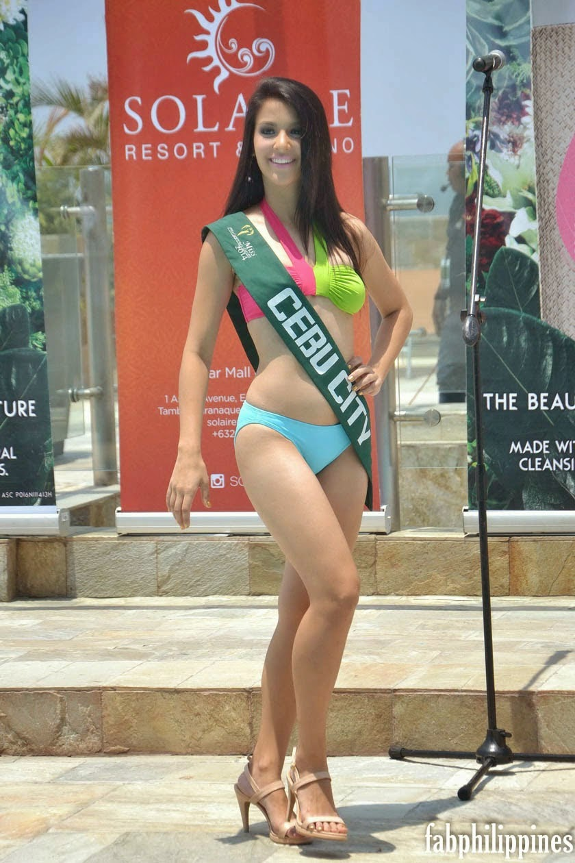 Swimsuit Competition days before Ms Philippines 2014