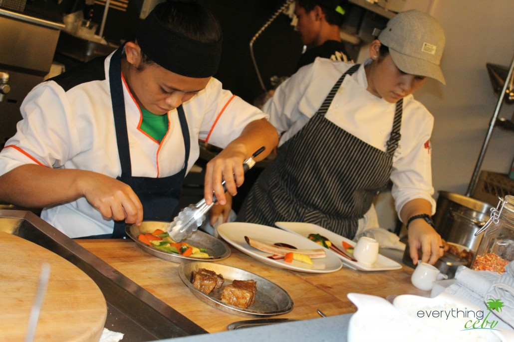 Here at Carnivore, you get to see how your orders are prepared, cooked, and served.