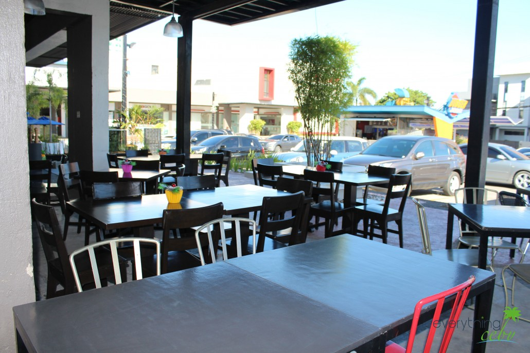 Their main dining area (inside) can accommodate 18 people, while the al fresco seats can cater up to 30 pax.