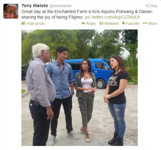 Kris TV Visits GK Enchanted Farm2