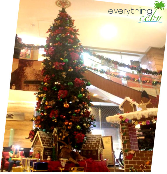 Christmas is fro the kids and kids at heart at Crown Regency.