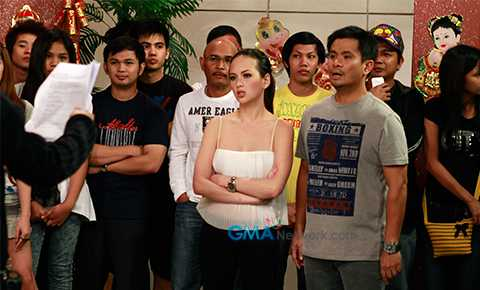 one of her scenes in Bubble Gang (source:www.gmanetwork.com)