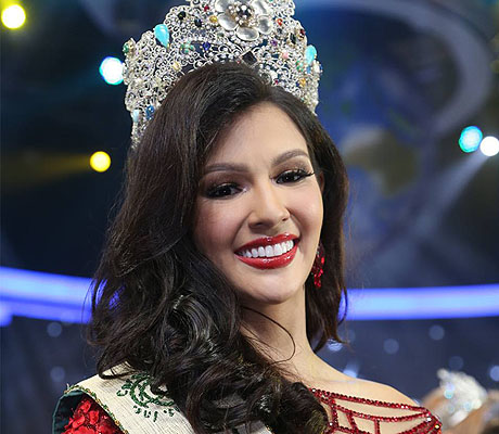 After her coronation as this year's Miss Earth!