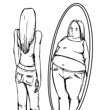 Look at yourself in the mirror while eating. (image source: lh3.googleusercontent.com)