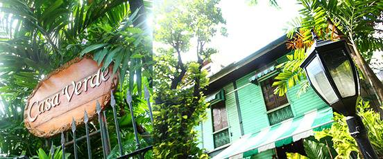 Ramos branch, an ancestral house transformed to a restaurant. (image source: Casa Verde Facebook Page)