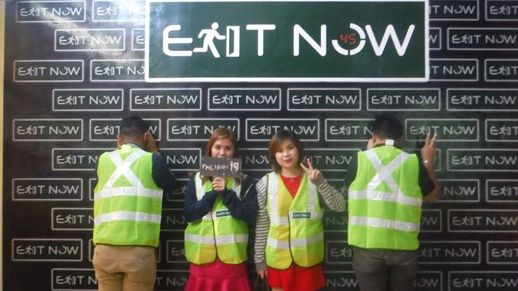 © Exit Now - Real Life Escape Game
