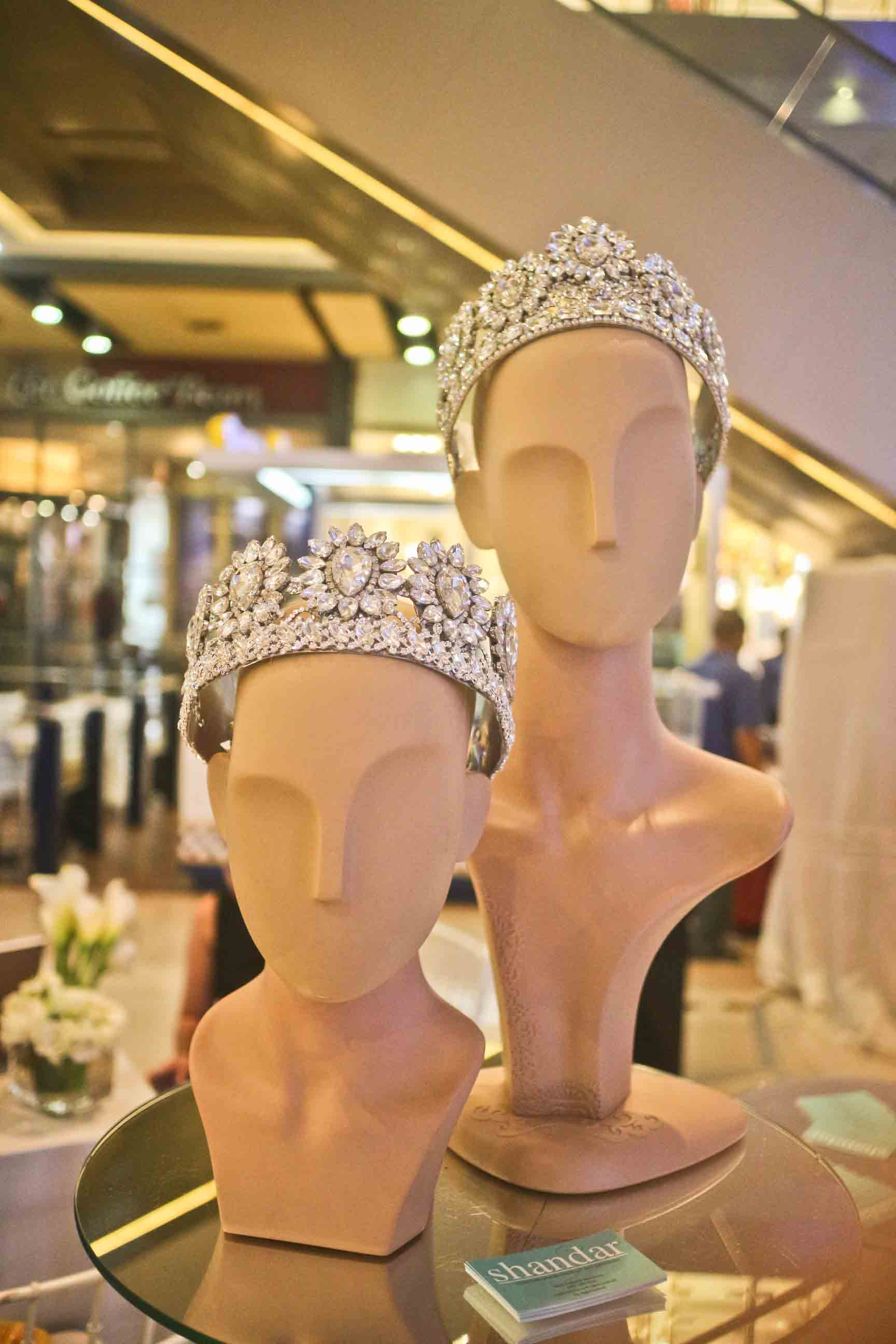 Head pieces by Mark Tenchavez of Shandar