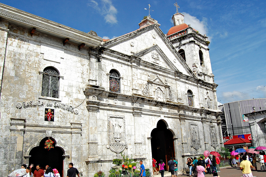 basilica de sto nino by ronald m on flicker