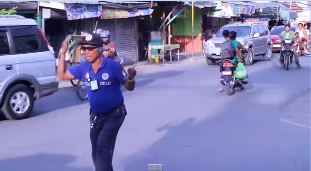 dancing traffic officer talisay featured