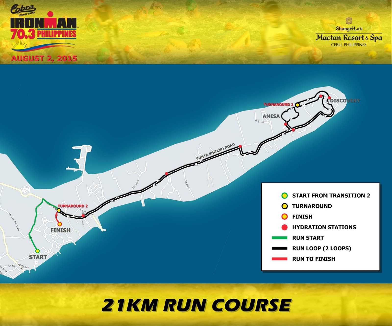 ironman cobra 2015 run route