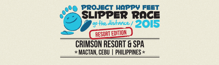 project happy feet slipper race