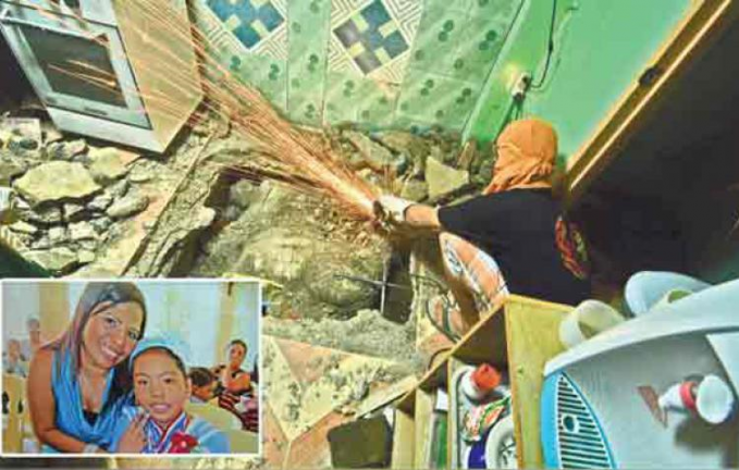 mother and daughter buried in septic tank