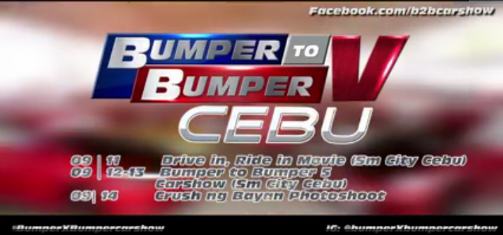 bumper to bumper 5 car show cebu