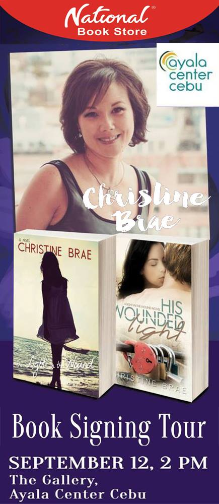 christine brae book signing cebu