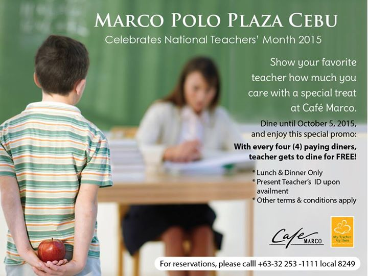 marco polo teachers month