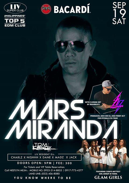 mars miranda liv super club