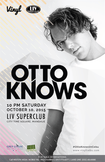 Otto Knows poster admat