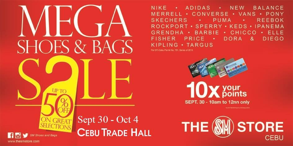 mega sale bags shoes sm