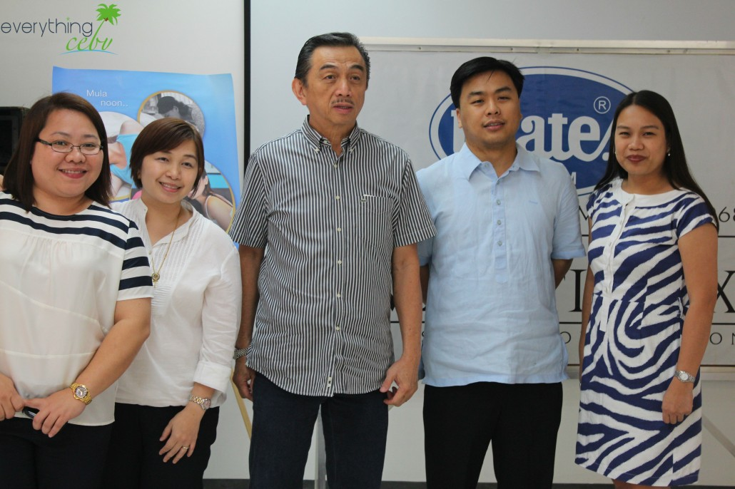 Uratex executives, including their very own Executive President, Mr. William Lee (middle)